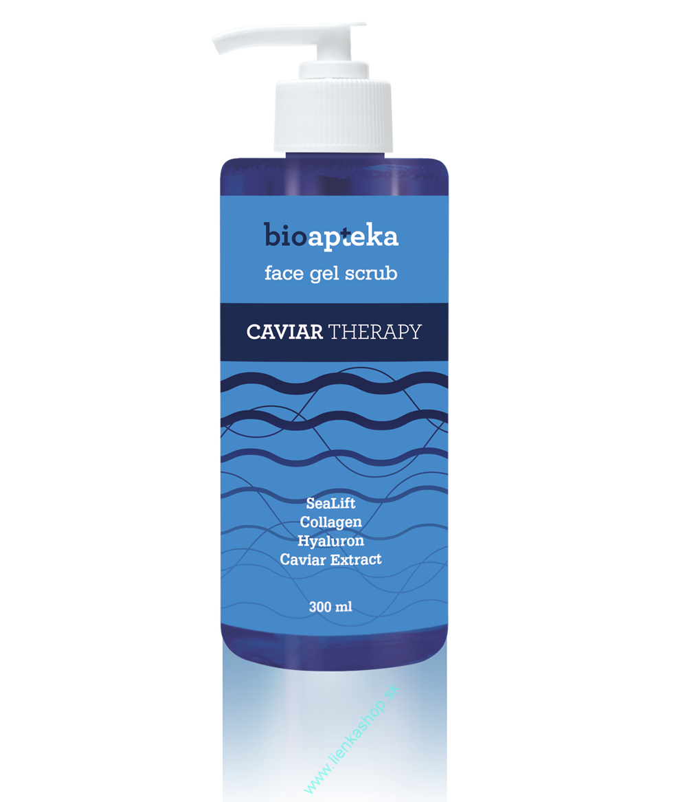 Bioapteka Caviar Therapy facial gel scrub, 300ml