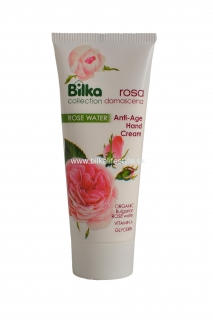 BILKA Anti-Age Hand Cream ROSA DAMASCENA 100 ml
