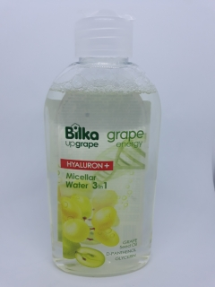 BILKA Grape & hyaluron Micerálna voda 3 v 1 200 ml