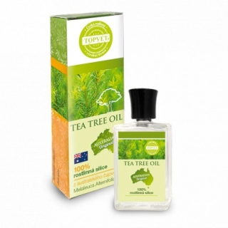TOPVET Tea tree oil - 100% silica 10 ml