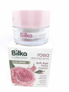 BILKA Anti-Age Face Cream ROSA DAMASCENA 40 ml